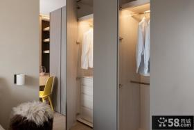 极简装修家居衣柜设计效果图