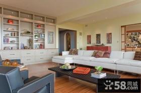 住房室内设计时尚简约风格客厅图片