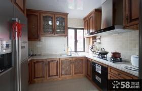 欧式风格室内厨房家装设计效果图
