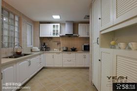 欧式开放式厨房设计图