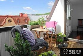 家庭设计露天阳台图片大全