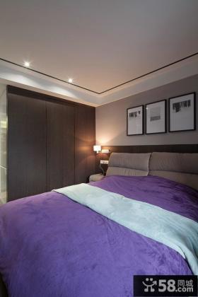 现代卧室房间装饰效果图片