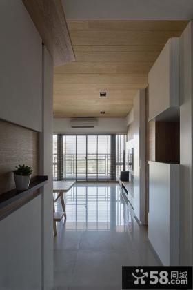 日式风格走廊装修图片
