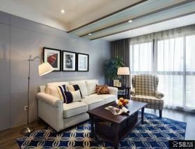 美式家居一室一厅效果图大全