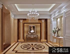 豪宅装修别墅挑高客厅吊顶设计