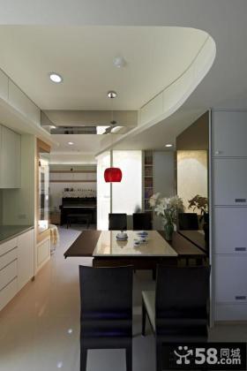 90平家居装修效果图简约小户型室内设计图大全
