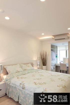 简单风格时尚卧室图
