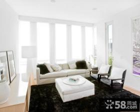 80平米小户型客厅装修案例图