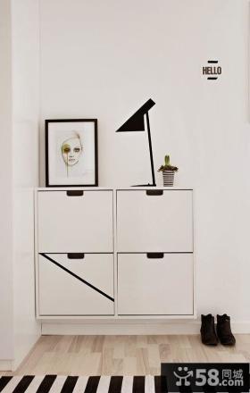 家庭鞋柜设计图