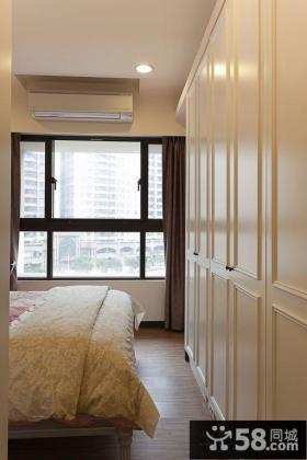 简约日式设计卧室衣柜图片大全