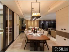 时尚豪华现代家居餐厅设计