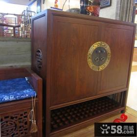 中式古典风格鞋柜图片