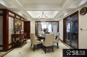 中式家装设计餐厅图片大全