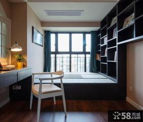 现代欧式风格室内书房装修图片