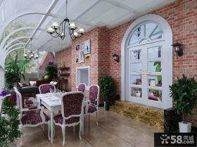阳光房餐厅装修效果图欣赏