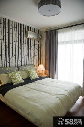 二居小户型卧室装修图