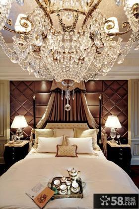 美式风格卧室豪华灯具图片欣赏大全