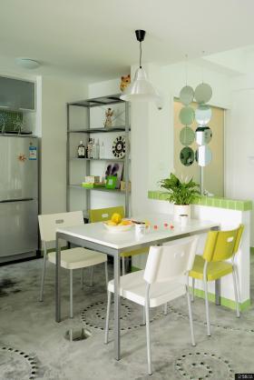 田园风格两室两厅小餐厅设计效果图欣赏