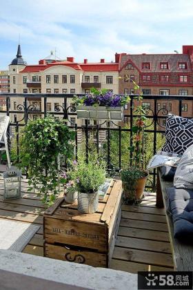 休闲家居生活阳台设计案例