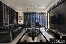 新古典风格客厅电视背景墙设计