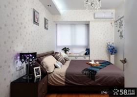 2013小卧室壁纸装修效果图大全