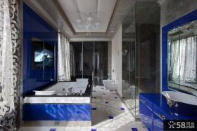 美式装修设计卫生间大全