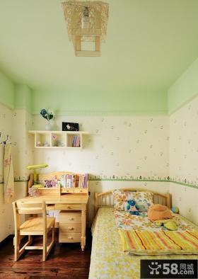 清新田园儿童房装修设计