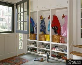 进门玄关鞋柜装饰效果图