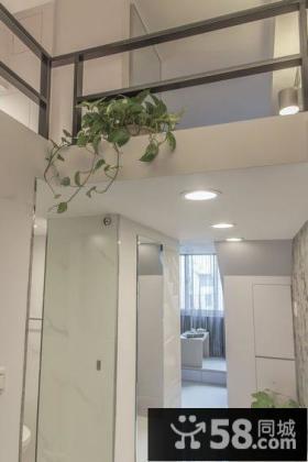 简约风格复式家装吊顶效果图片
