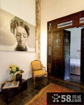 室内过道装饰画效果图