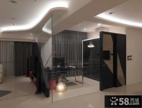 现代时尚两居室装修
