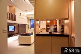 小户型客厅装饰壁柜装修效果图