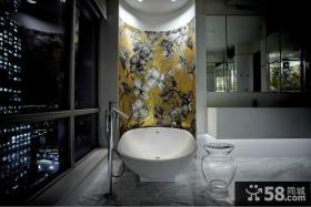 现代风格浴室设计效果图