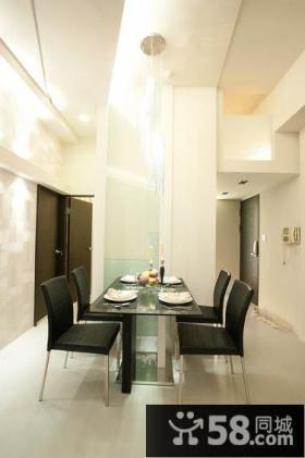 简约风格二居餐厅室内图片