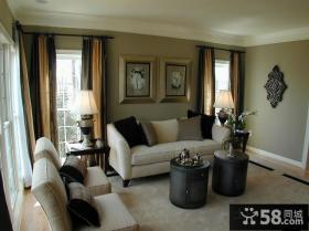 简约风格家装客厅图片