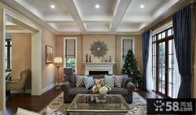 简欧风格别墅室内设计效果图片