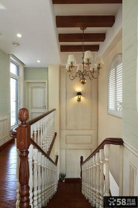 美式装饰设计玄关家居