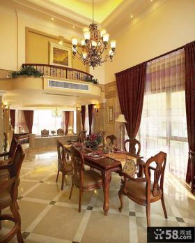 豪宅别墅餐厅设计