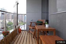 家庭装修阳台隐形门图片