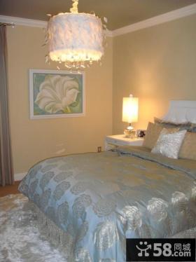 欧式小户型卧室装修效果图大全2012图片 卧室吊顶灯装饰图片
