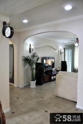 家居客厅拱门图片大全