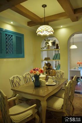 现代家庭餐厅设计效果图