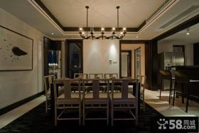 简中式时尚餐厅设计