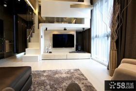 现代风格电视背景墙装修案例