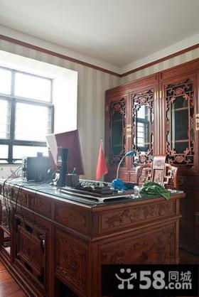 大器古典中式书房装潢
