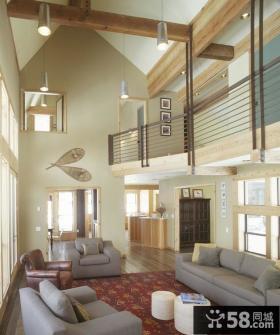 二层别墅装修效果图 客厅装修效果图大全2012图片