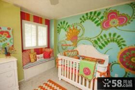混搭风格设计室内儿童房效果图大全