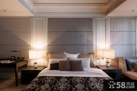 优质美式公寓卧室设计室内效果图