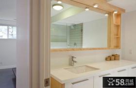70平米小户型简约卧室装修效果图大全2014图片