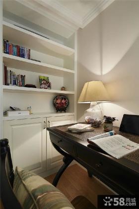 休闲美式书房装修案例